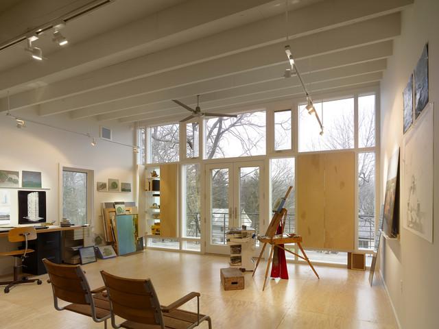 Havertown Residence modern-home-office