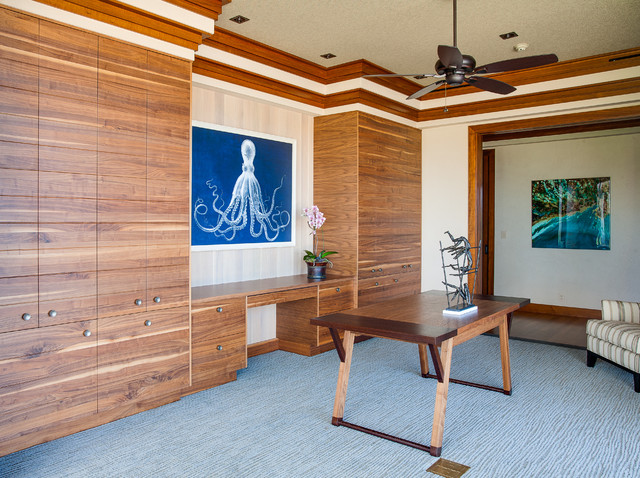 Hawaii 1 - Tropical - Home Office - Other - by Norelco Cabinets Ltd