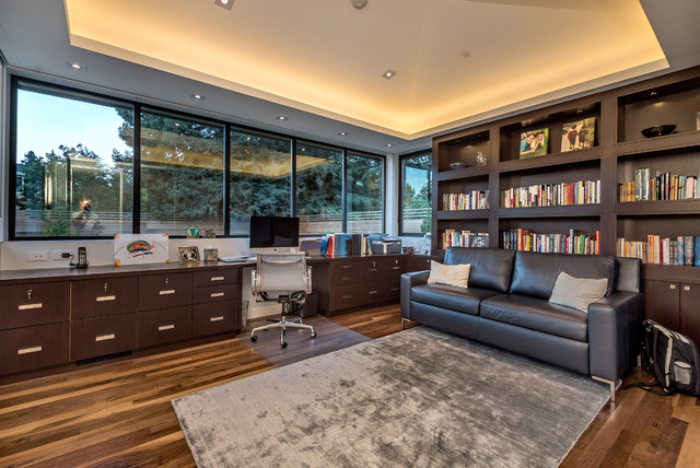 Lawrence Park Ravine House Contemporary Home Office