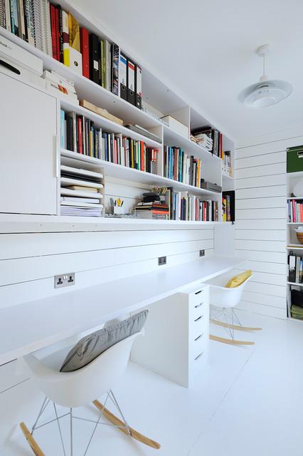 Cómo montar una zona de estudio en casa en un cuarto compartido 2