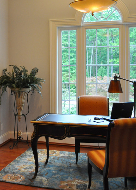 Her Office traditional-home-office