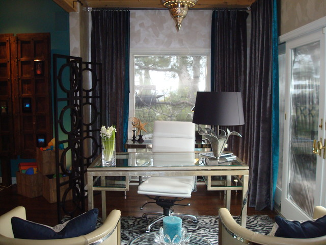 HGTV'd  Home Office eclectic-home-office