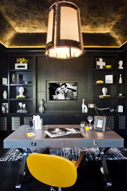 Hidden Hills, CA - Contemporary - Home Office - los angeles - by Smith Firestone Associates