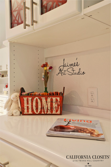 High Class Craft Studio eclectic-home-office