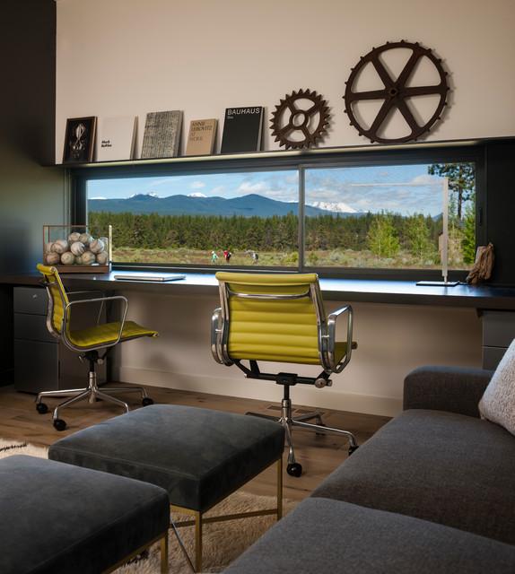 High Desert Modern Modern Home Office