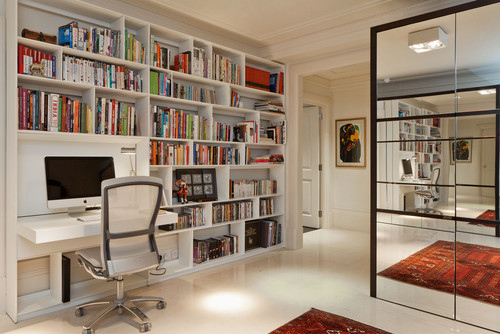 Make room for books and hobbies