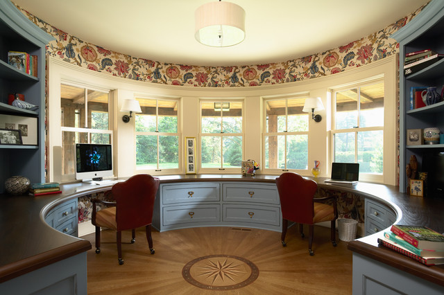 Highcroft Residence Victorian Home Office