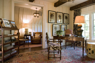 Highlands Showhouse traditional home office