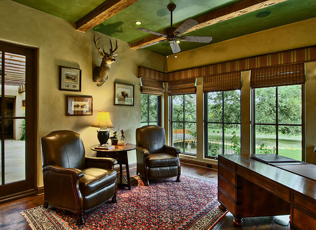 Office Furniture From Hill Country Interiors: Hill Country Ranch Study