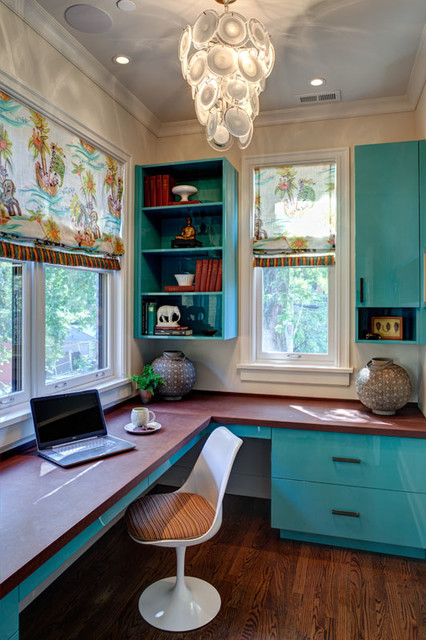 historical rehab eclectic home office chicago by nielsen dye design inc eclectic beach home buildshop