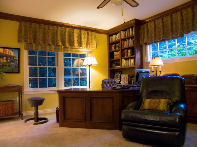 History Inspired Fine Art traditional-home-office