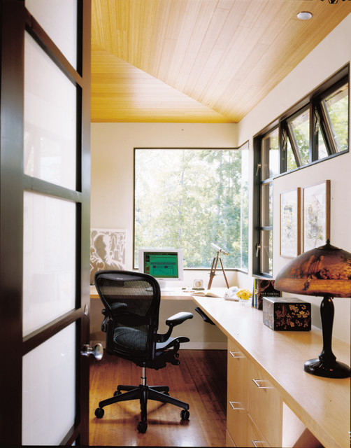 Hollander Residence contemporary-home-office
