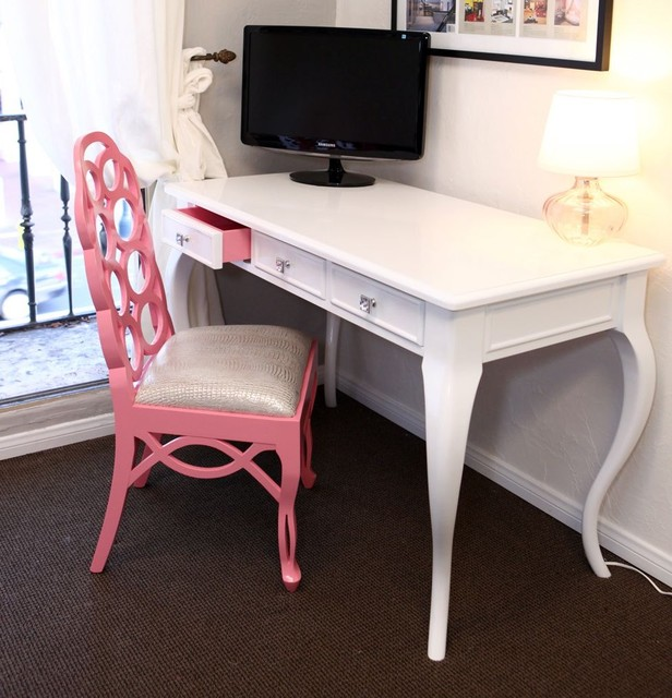 Hollywood Hills Desk & Chair eclectic-home-office
