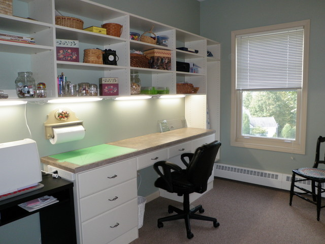 home craft room wolfeboro nh contemporary home office