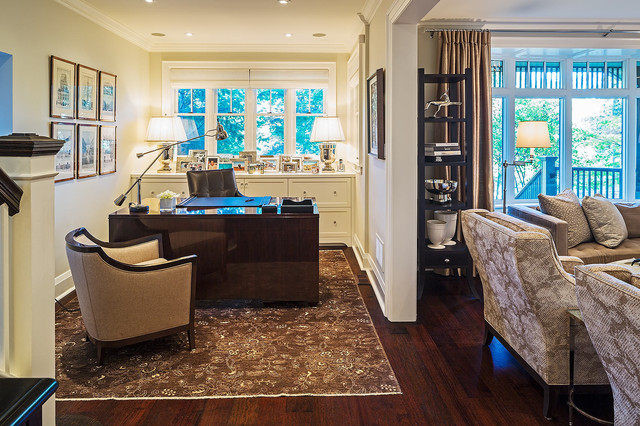 Home in Toronto 6 transitional-home-office