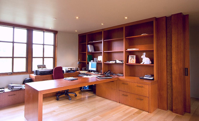 Home Office and Libraries contemporary-home-office