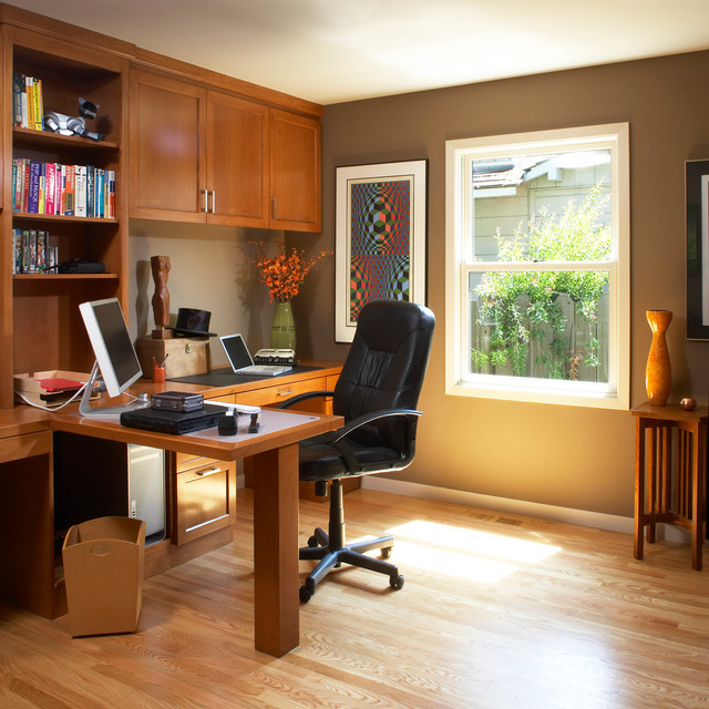Home office and residential work spaces - Traditional ...