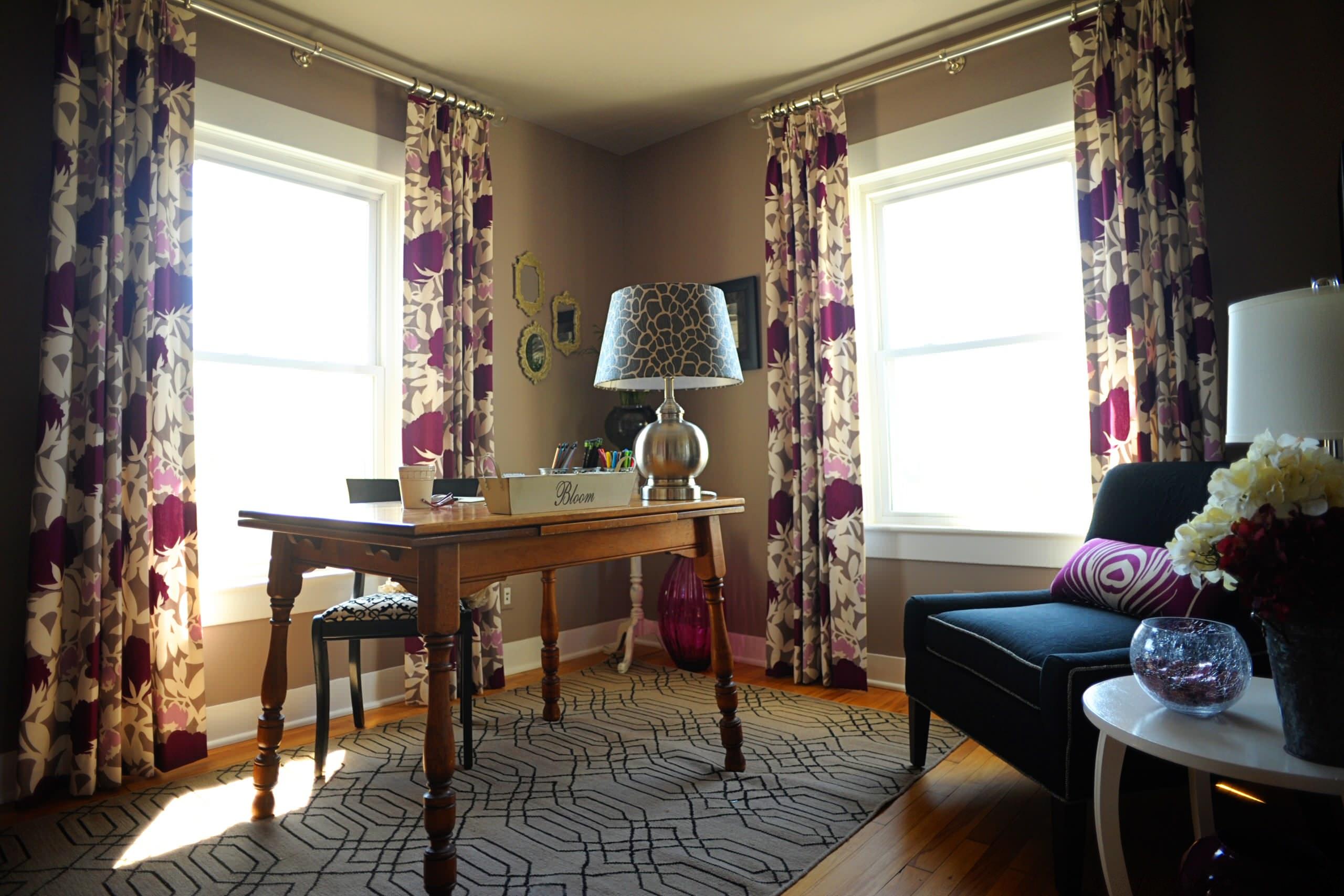 Home Office Window Treatments Houzz