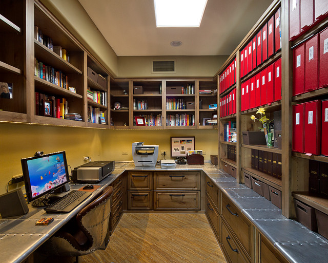 Contemporary Home Office Phoenix