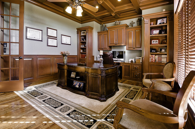 Home office traditional home office little rock by for Little rock custom home builders