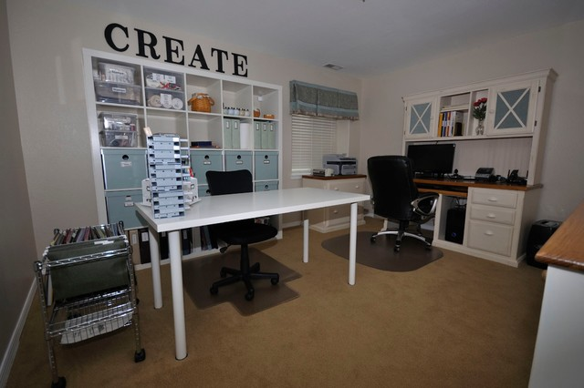 Home Office / Craft Room Modern Home Office