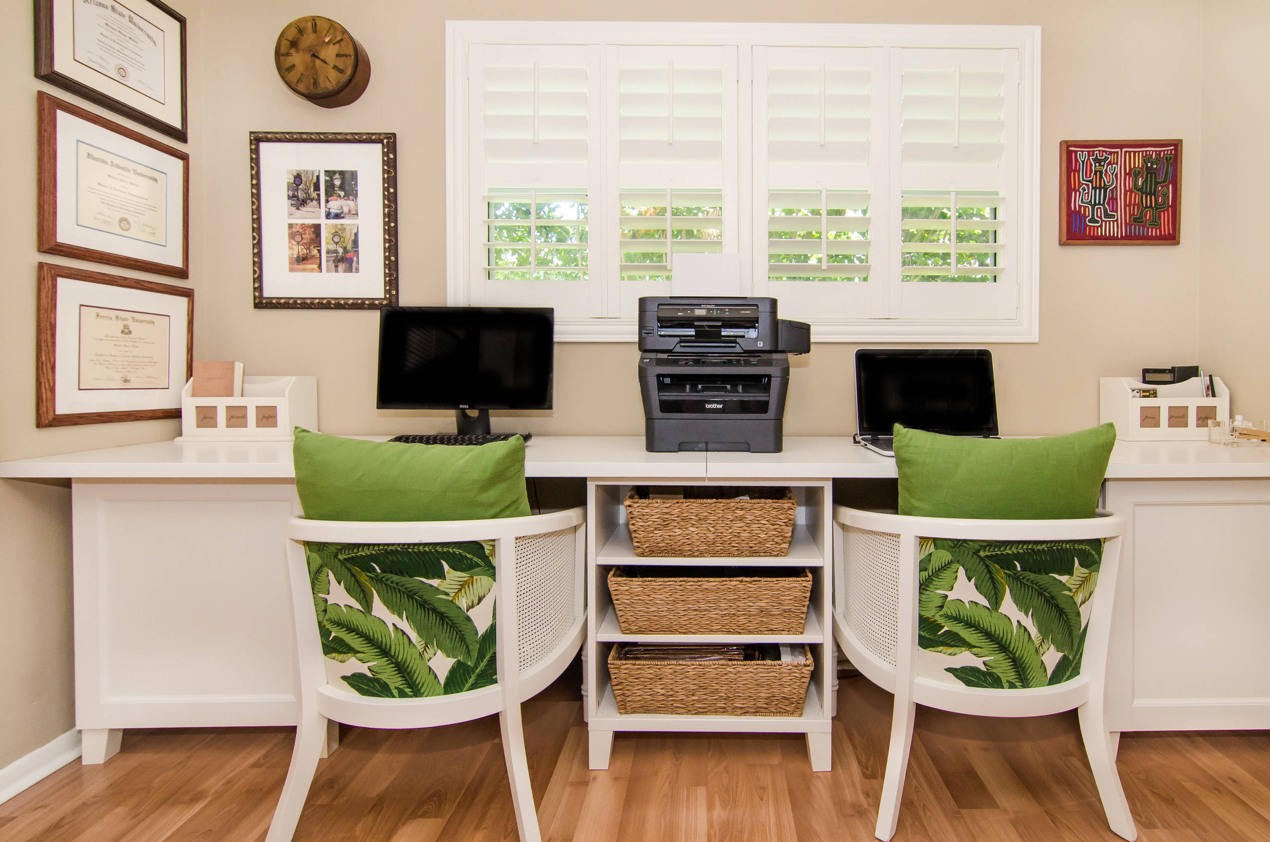 75 Beautiful Laminate Floor Craft Room Pictures Ideas February 2021 Houzz