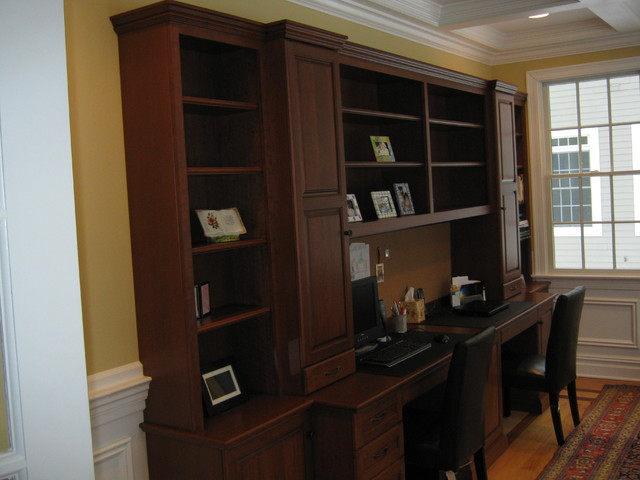Home Office - Traditional - Home Office - other metro - by ...