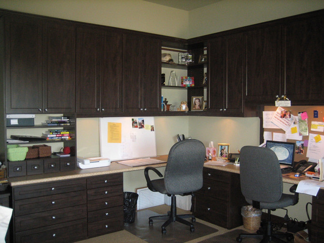 Home Office Design Inspiration   California Closets DFW Traditional Home  Office And
