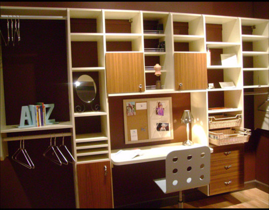 Home office design inspiration california closets dfw contemporary home office - Home office closet ideas ...