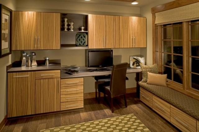 Home Office Design Inspiration - California Closets DFW contemporary-home-office