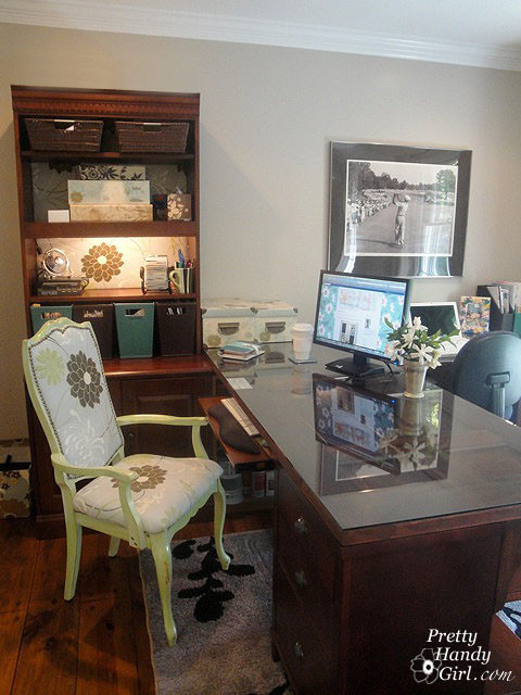 Home office. Desks made from old doors eclectic-home-office