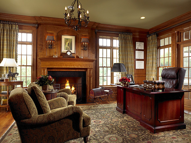 BALTIMORE, MARYLAND PROJECT # 3 traditional-home-office