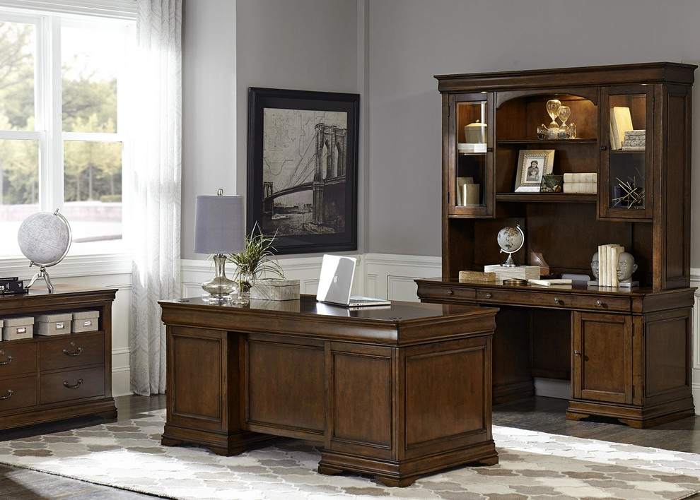 Home Office Furniture - Transitional - Home Office ...