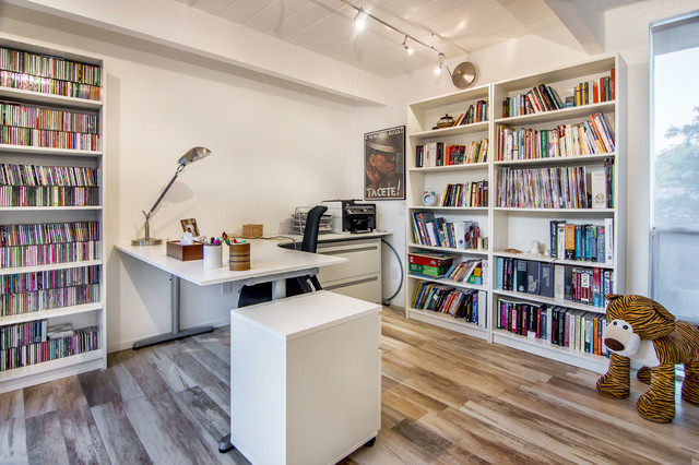 Home Office in Eichler Renovation - Modern - Home Office - San Francisco - by Bill Fry ...
