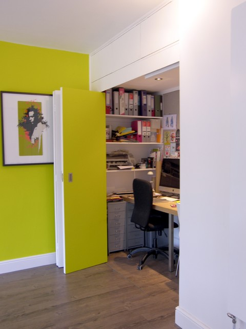 Home Office In Henleaze Bristol Contemporary Home