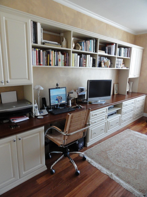 Home Office in Master Bedroom - Traditional - Home Office - New York ...