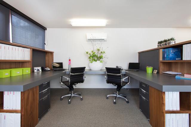 Home Office コンテンポラリー-ホームオフィス書斎