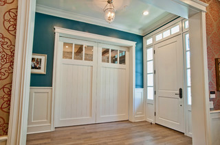 Home office interior doors traditional home office for Closet doors los angeles