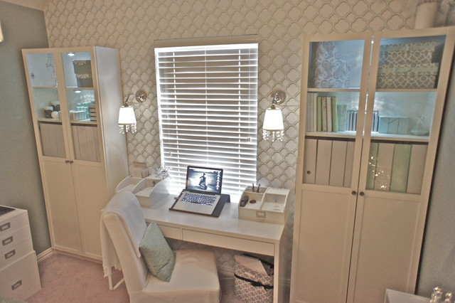 Home Office - Traditional - Home Office - dallas - by JDS DESIGNS