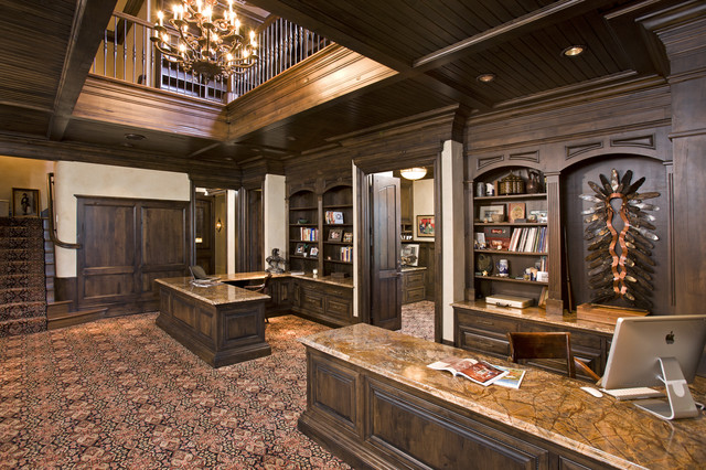 Home office traditional home office minneapolis by john kraemer sons Classic home office design ideas