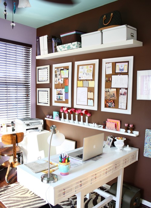 contemporary home office design by dc metro interior designer kelly