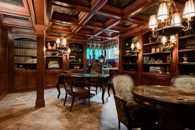 Home office traditional home office chicago by for Home office design ltd