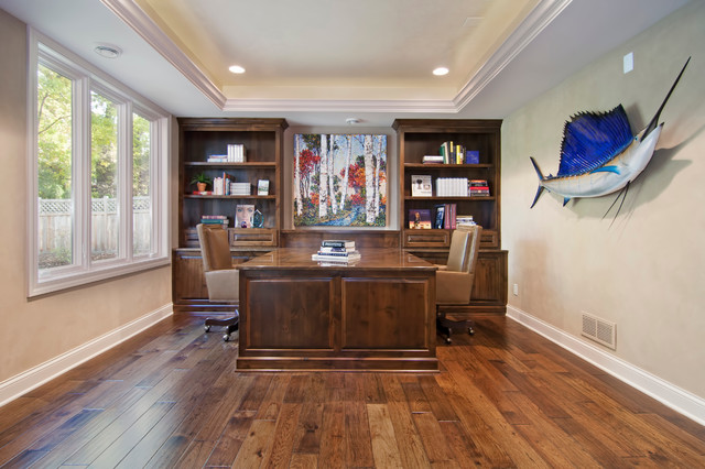 Home office traditional home office other metro by - Home office cabinetry design ...