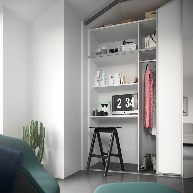 Home Office - Contemporary - Home Office - Hertfordshire - by