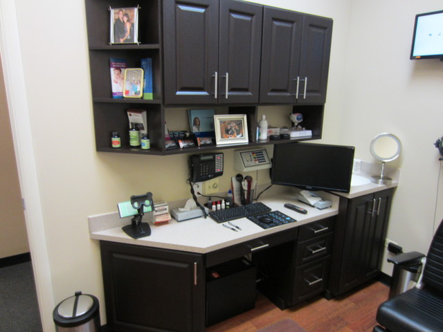 HOME OFFICE ORGANIZERS transitional-home-office