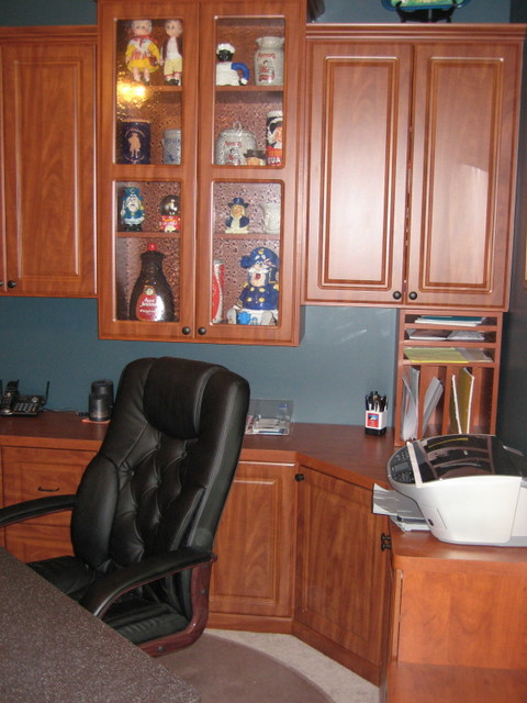 HOME OFFICE ORGANIZERS traditional-home-office