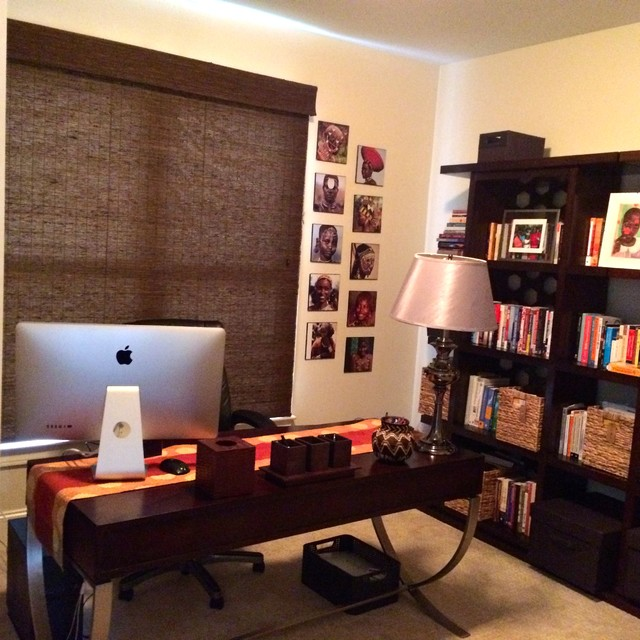 home office organizing project after photos modern home office