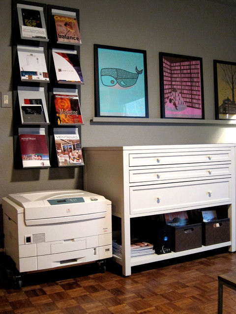 Home Office Remodel modern-home-office