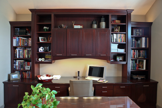 Home Office Space Traditional Home Office Salt Lake City