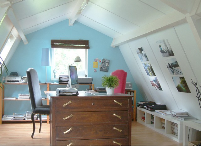 Home office space for two people for Home office space